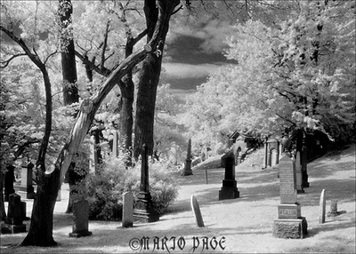 INFRARED CEMETERY MARIO PAGE